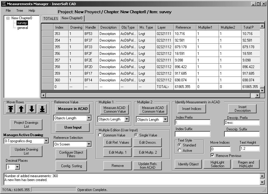 InnerSoft CAD is an add-on for AutoCAD that installs a set of