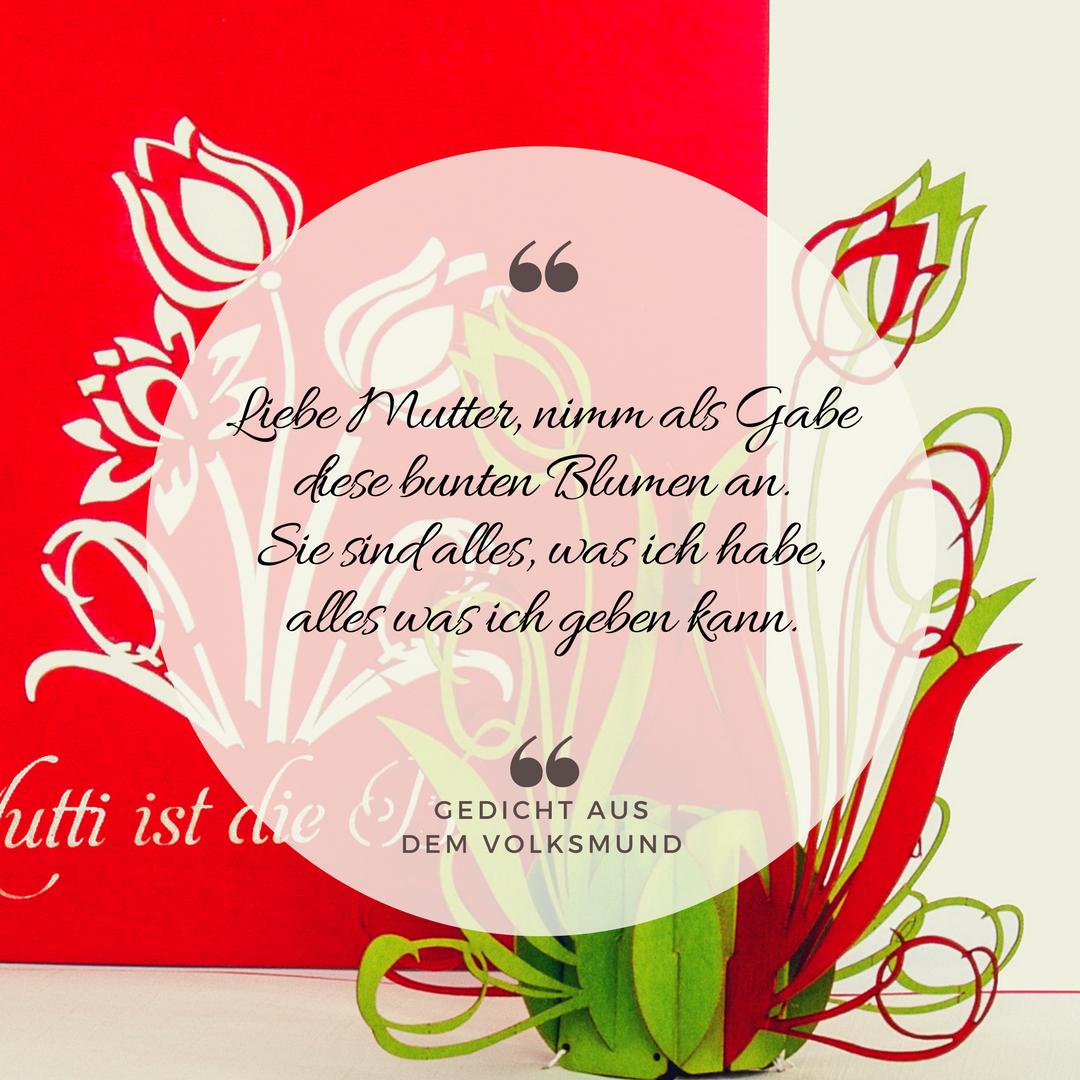 10  Glückwunschkarten Muttertag Karten Karte Glückwunsch Mutter Tag