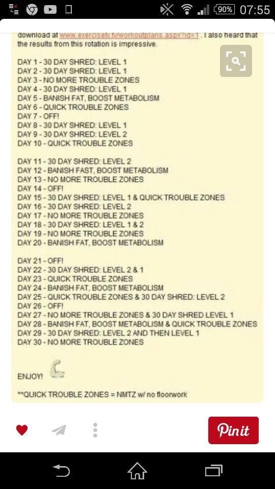 30 napos karcsú kihívás Jillian)
