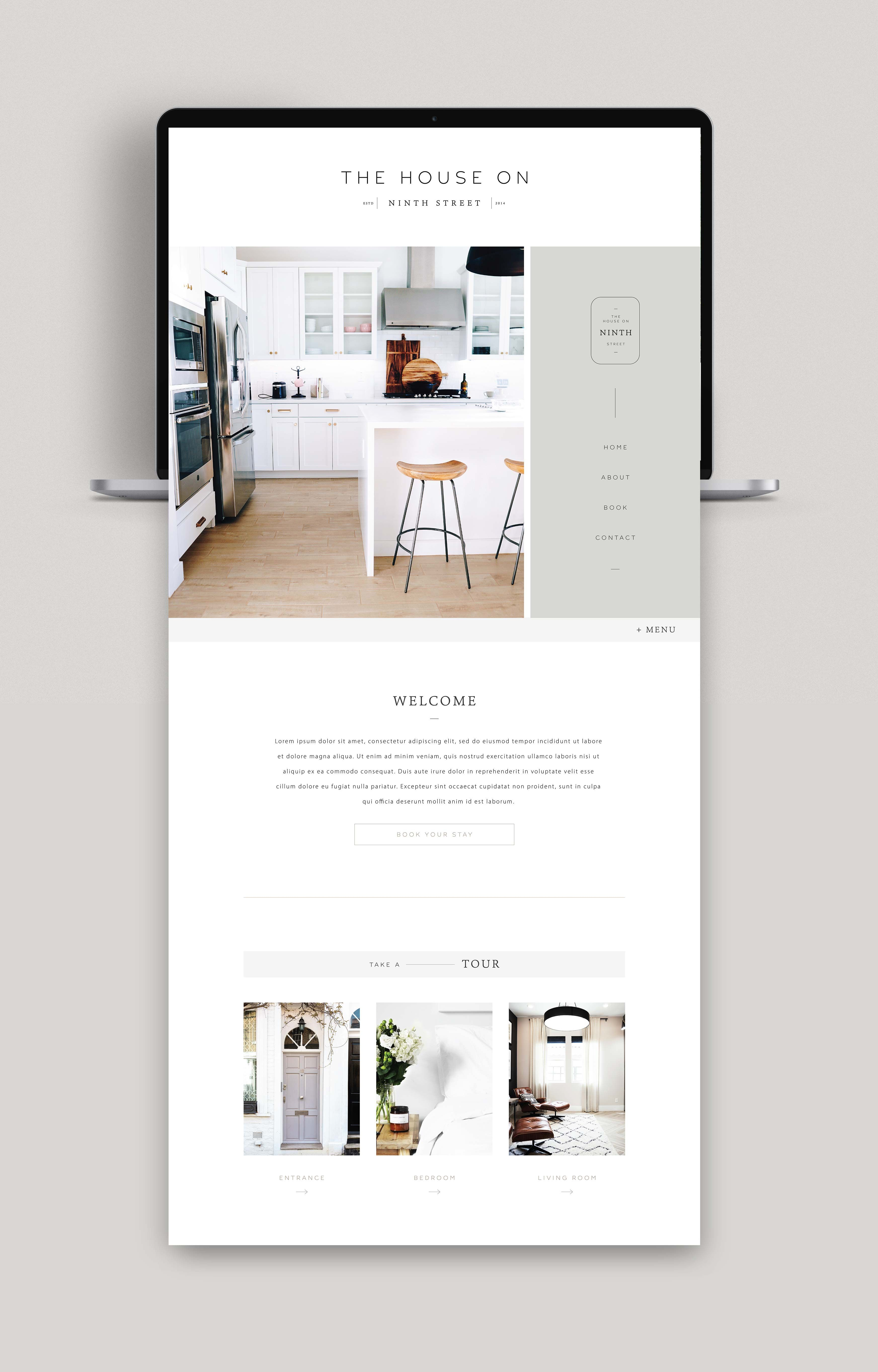 Minimal Modern Design Inspiration Branding And Website Ideas Amarie Lael Design In 2020 Simple Web Design Modern Web Design Minimalist Web Design
