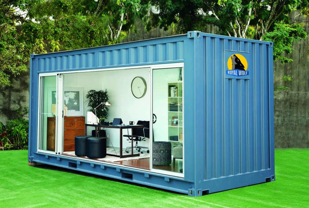outdoor home office. Royal Wolf Home Office Outdoor