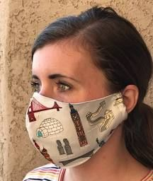 Photo of Simple Step By Step Tutorial How to Sew the Olson Face Mask Pattern – child sizes too — SewCanShe   Free Sewing Patterns and Tutorials