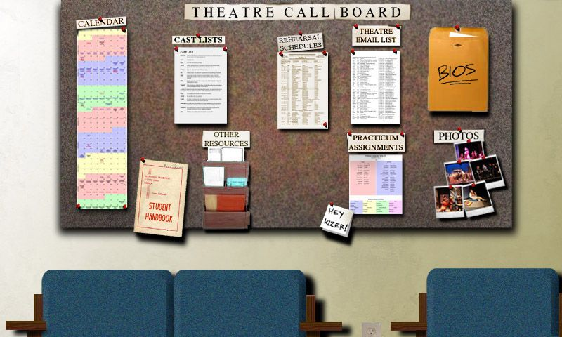 The Call Board Theater Classroom Reboot 2017 Pinterest Board - student sign in sheet