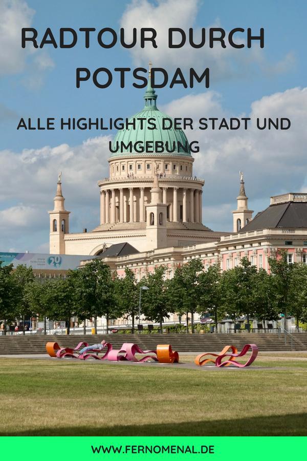 Radtour Durch Die Erlebnisreiche Stadt Potsdam Und Umgebung