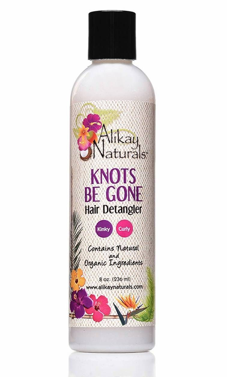 Alikay naturals knots be gone hair detangler 8oz hair