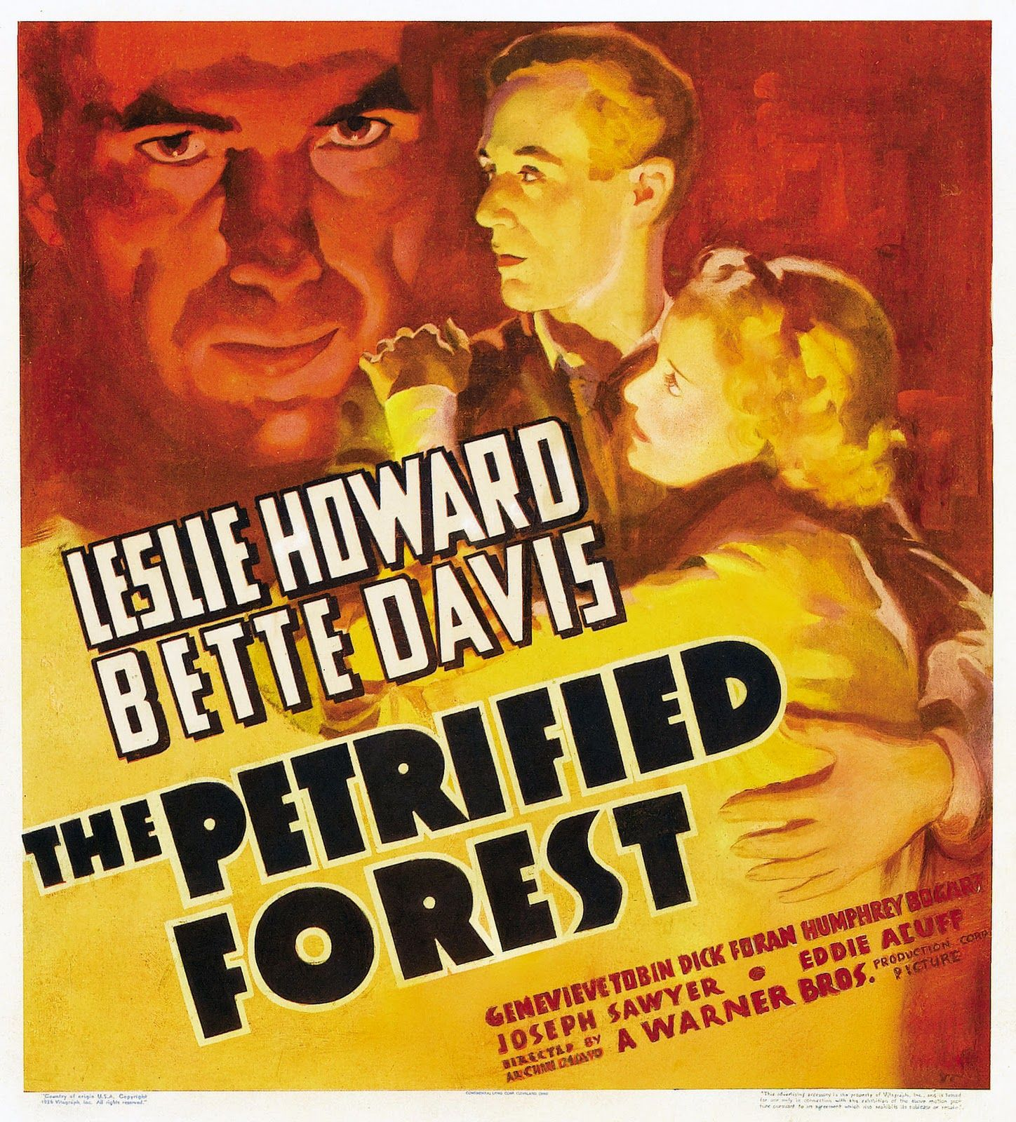 The Petrified Forest (1936) (With images) Bette davis
