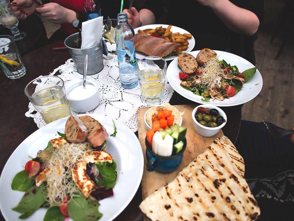 Sunday Lunch #poland #krakow #bunkiercafe #salad http://monasdailystyle.fitfashion.fi/2016/03/07/sunday-lunch-bunkier-cafe/