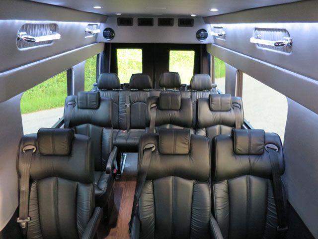 Nice Mercedes 2014 Mercedes Benz Sprinter 6 Cylinder 15 Passenger Limo Executive Shuttle Va Projec Luxury Van Mercedes Benz Vans Sprinter Passenger Van