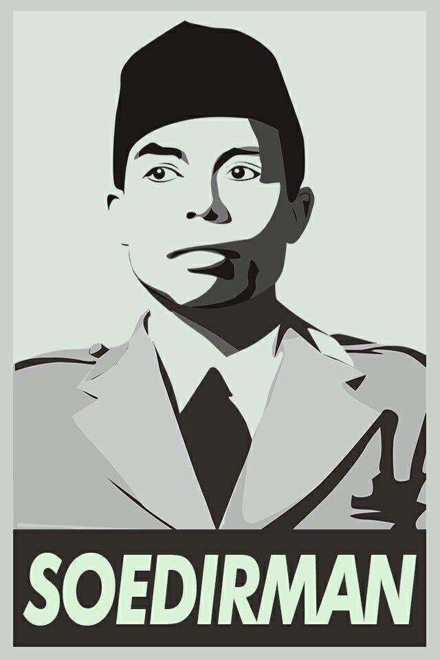 Jenderal Soedirman Vector : jenderal, soedirman, vector, Vector, Illustration,