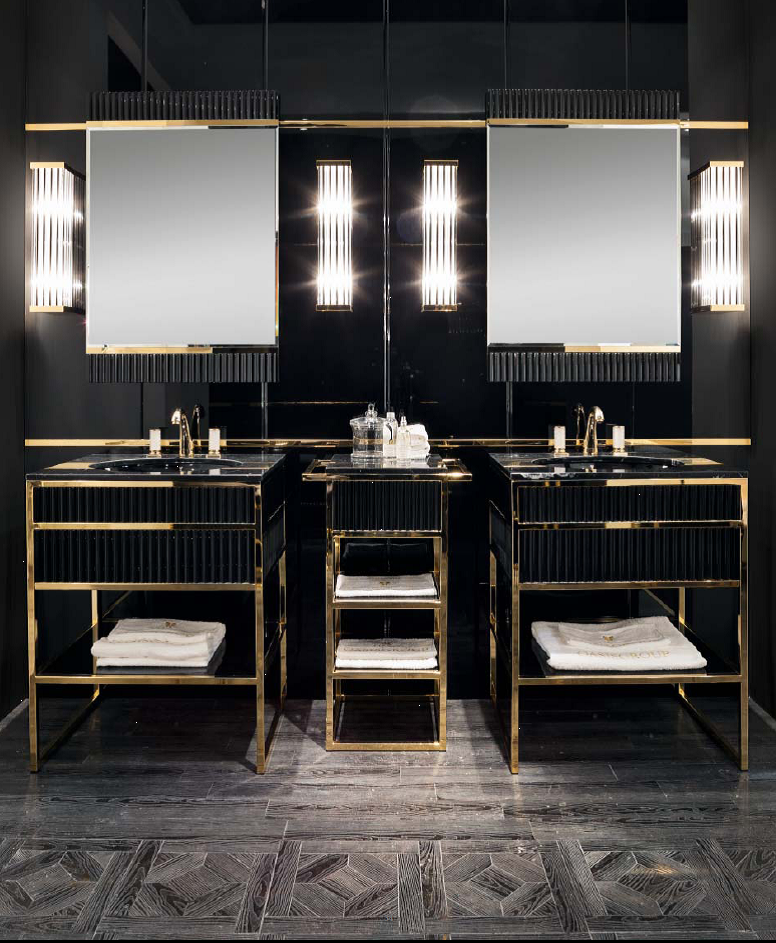 Academy Luxury Black Gold Furniture Are A Big Design