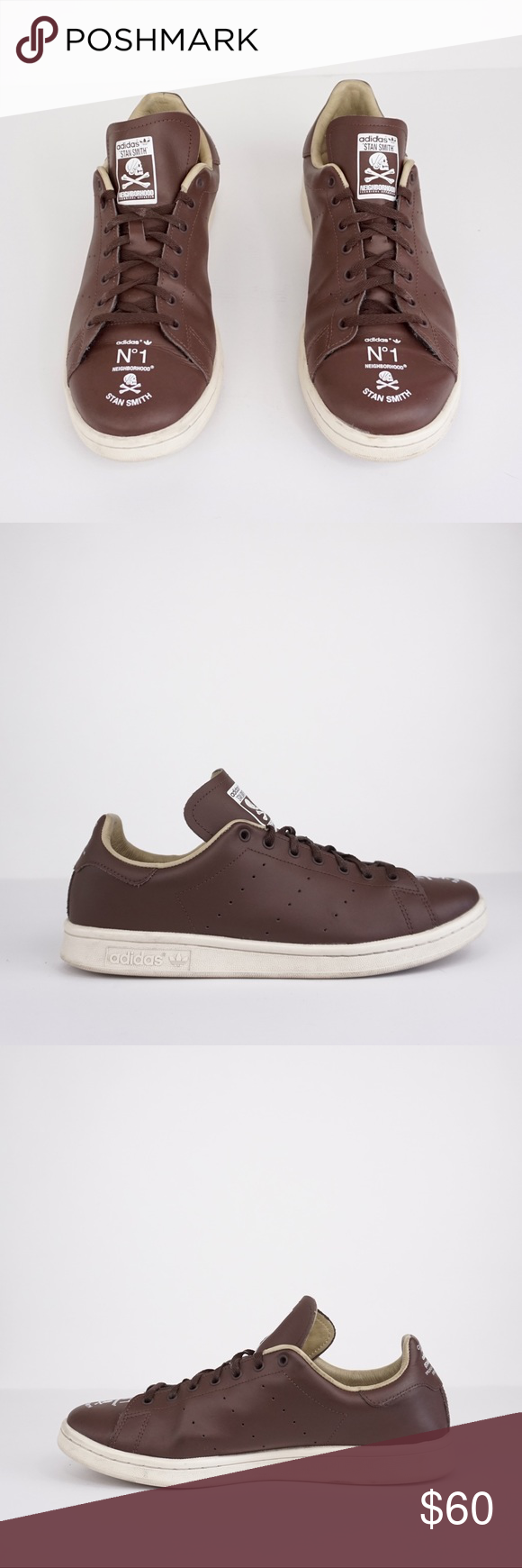 Adidas   Stan Smith Collection Brown Sneakers   11 Adidas   Stan Smith Collection Brown Sneakers   1...