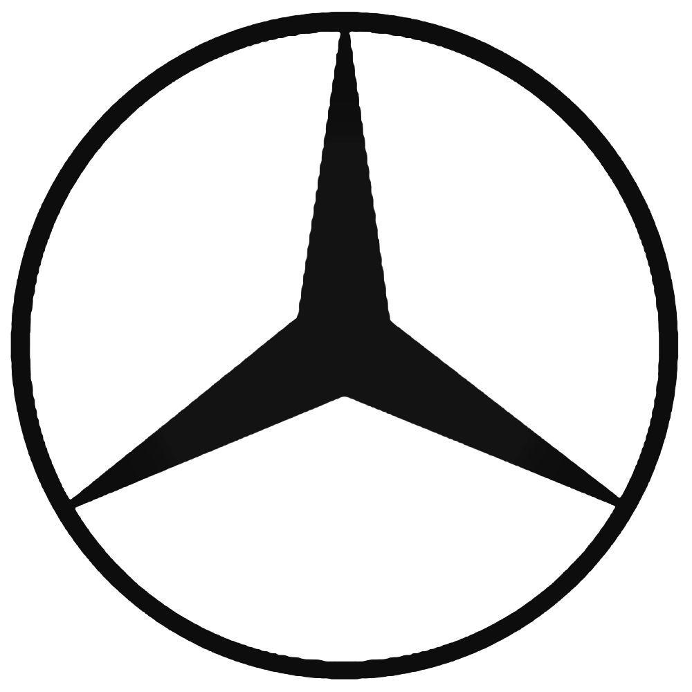 Mercedes Benz Auto Aftermarket Decal Sticker Mercedes Logo Mercedes Benz Logo Mercedes