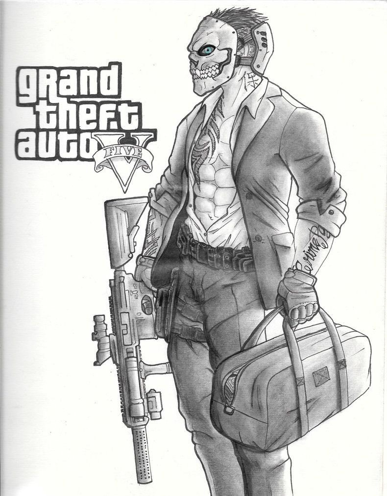Gta 5 Colouring Pages Franklin For Coloring Ahmedmagdy Me In Gta 5 Gta Cars Grand Theft Auto