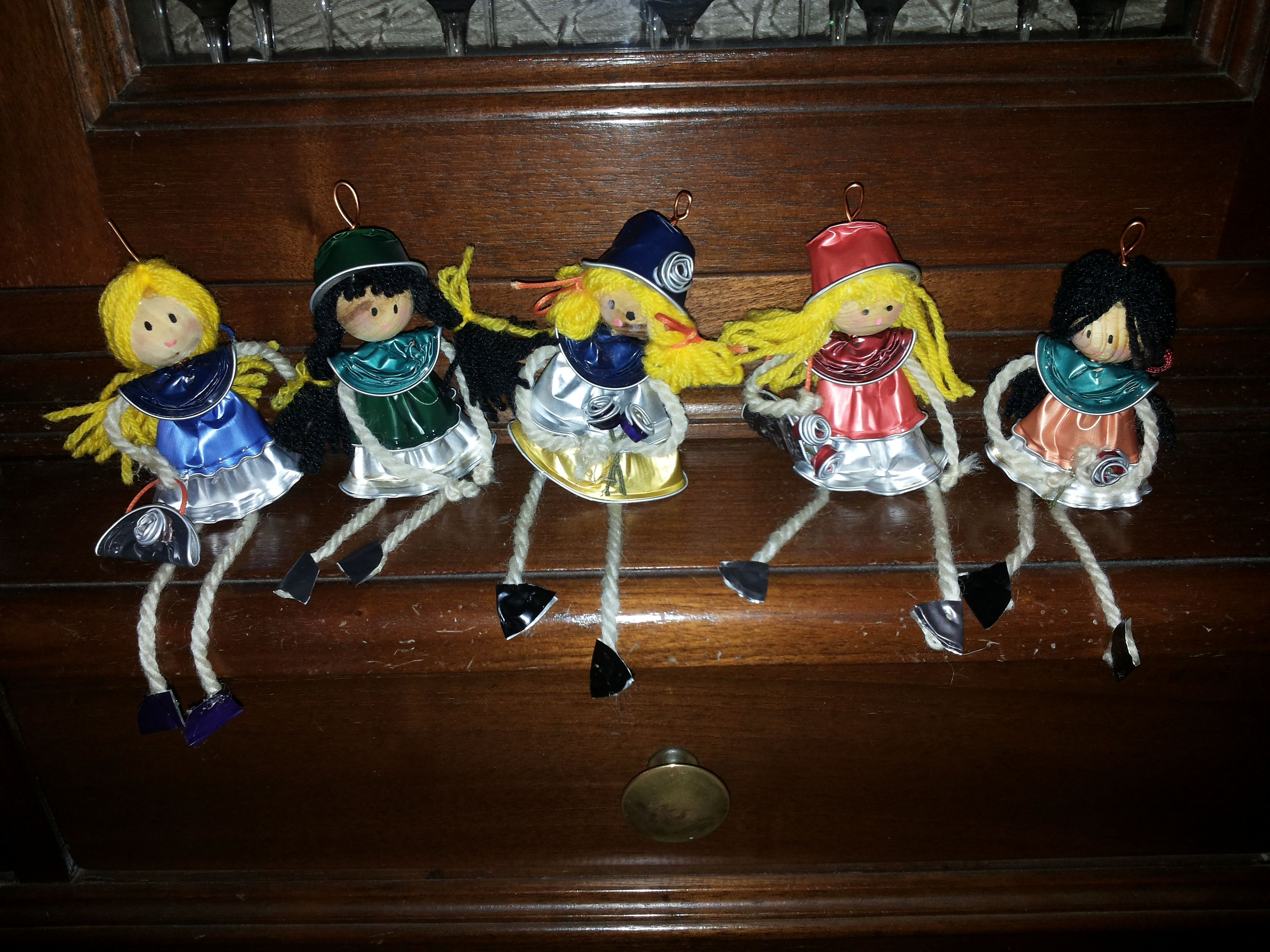 bamboline con cialde