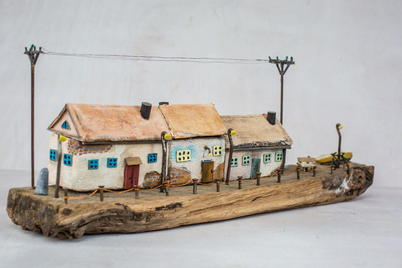 Casa Di Legno Costi casa in miniatura casa in legno casetta arte driftwood