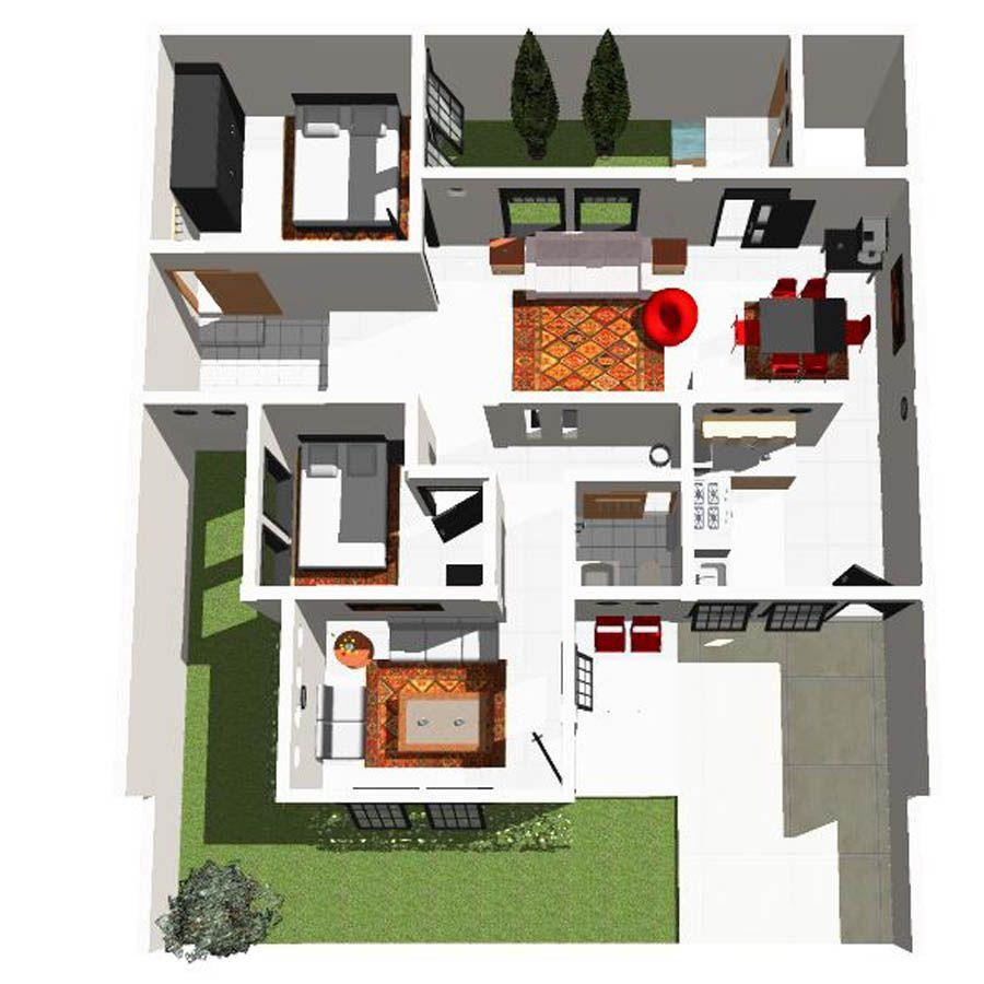 Ide Desain Rumah Minimalis Ukuran 10x12