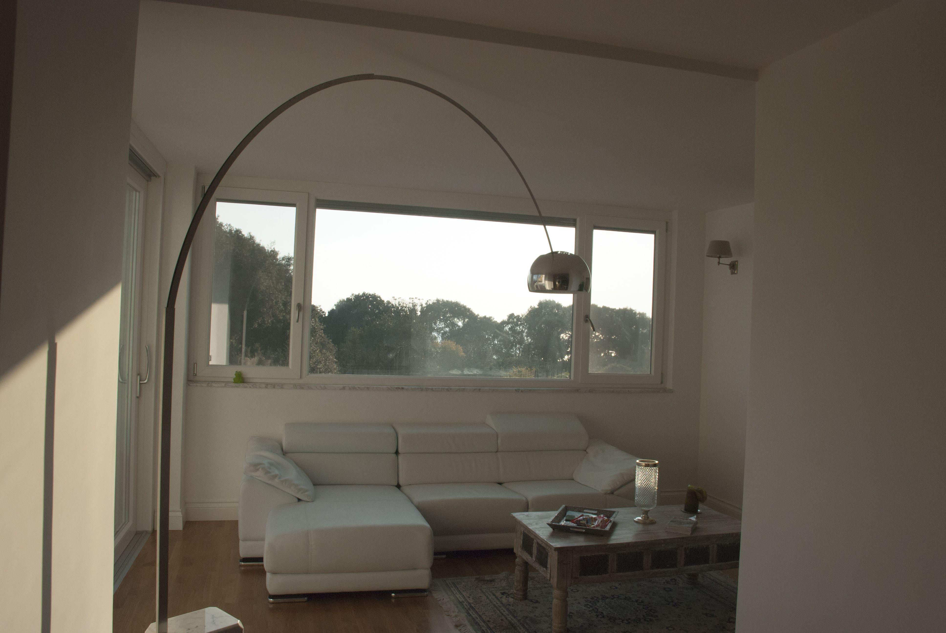 Residenza privata, Torre Annunziata. Living