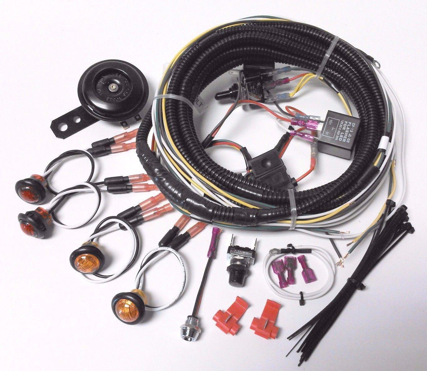 Honda Pioneer - Street Legal Turn Signal Lights Horn Kit SxS 500 700 1000 1000-4