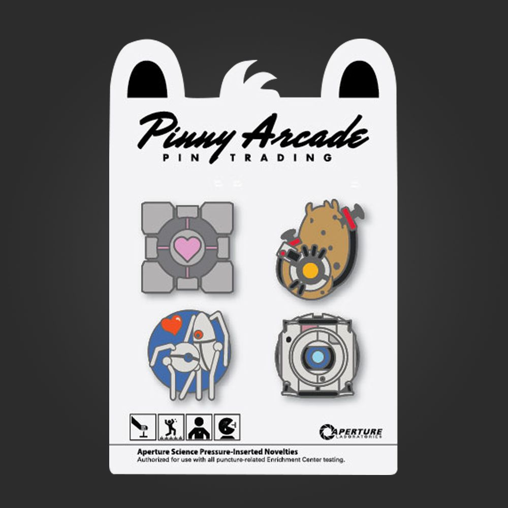 Welovefinepinny arcade portal pin set rings necklaces pins welovefinepinny arcade portal pin set arcade pin pin ring necklace patches m4hsunfo