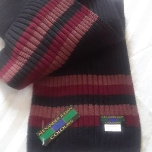 NWT Alexander Julian Colours Mens Scarf black 70 #fashion #clothing #shoes #accessories #men #mensclothing #scarves #mensscarves