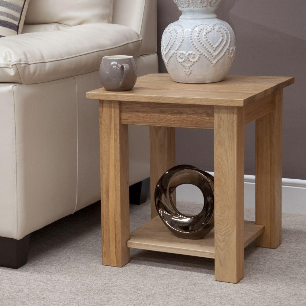 Homestyle Lyon Oak Lamp Table Oak Furniture House Solid Oak