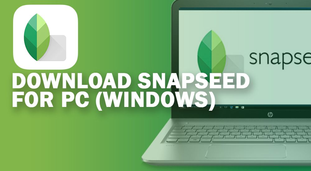 snapseed app for pc windows 10