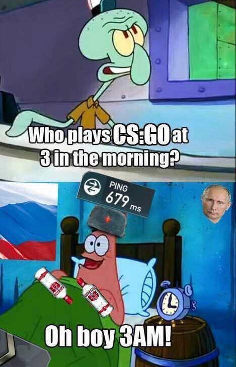 Cyka Blyat | Goffy | Funny memes, Memes, Cs go funny