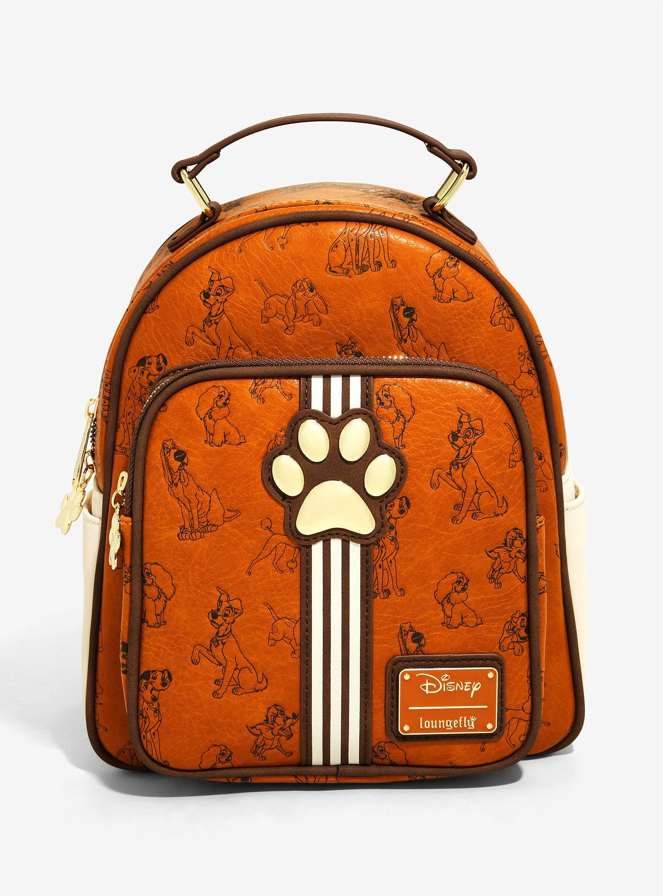 Loungefly disney dogs mini backpack boxlunch exclusive