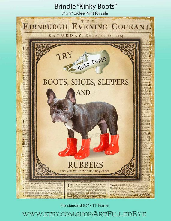 Shoe Advertisement Giclee Print of Cute Black by ...