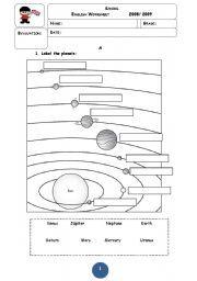 Solar System Worksheets | Homeschooldressage.com