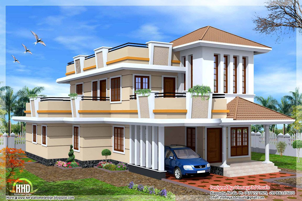 October architecture house plans indian home design kerala small also best my images homes dream rh pinterest