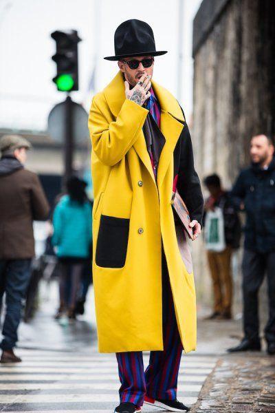 Tydzien Mody Meskiej W Paryzu Okiem Moniki Motor 1 Mens Fashion Fashion Raincoat