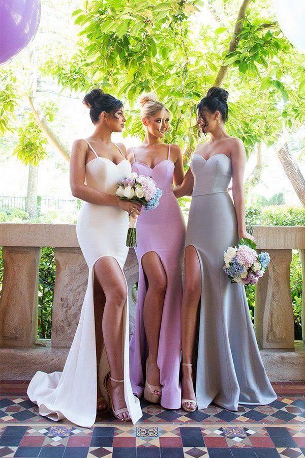 Stephanie Gown Nude Dollhouse Bridesmaids