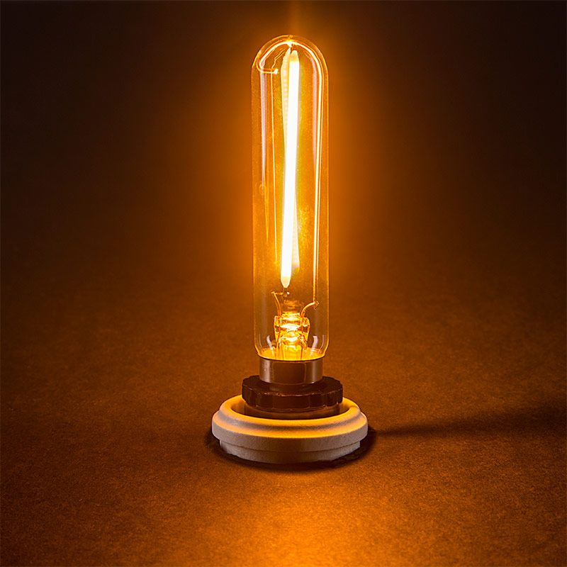 T6 Led Filament Bulb 15 Watt Equivalent Candelabra Led Bulb Radio Style Dimmable 106 Lumens Vintage Light Bulbs Led Bulb Filament Bulb