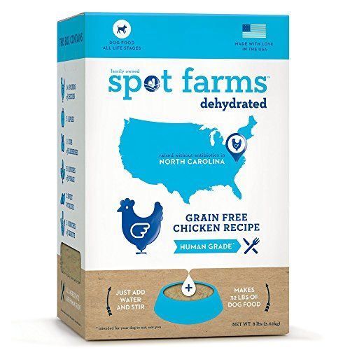 Spot Farms Dehydrated Grain Free Chicken Formula Dog Food, 8.0 lb ** Details can be found by clicking on the image.