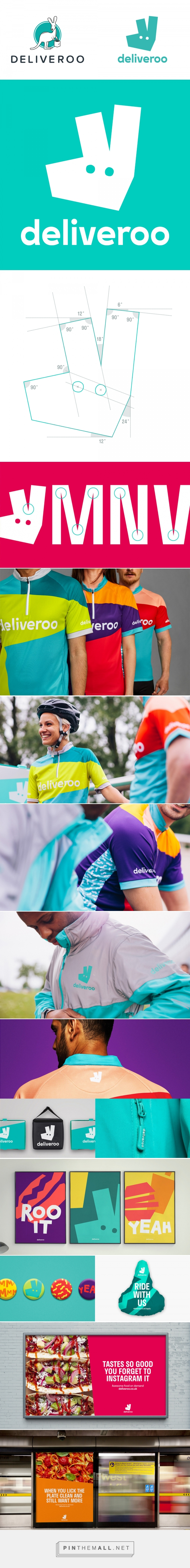 82c2d2e04 Brand New  New Logo and Identity for Deliveroo by DesignStudio - created  via…