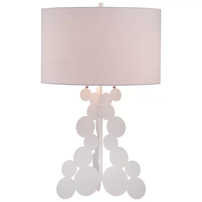Ivy Bronx Colombo 27 5 Table Lamp Wayfair Table Lamp White Table Lamp Lamp