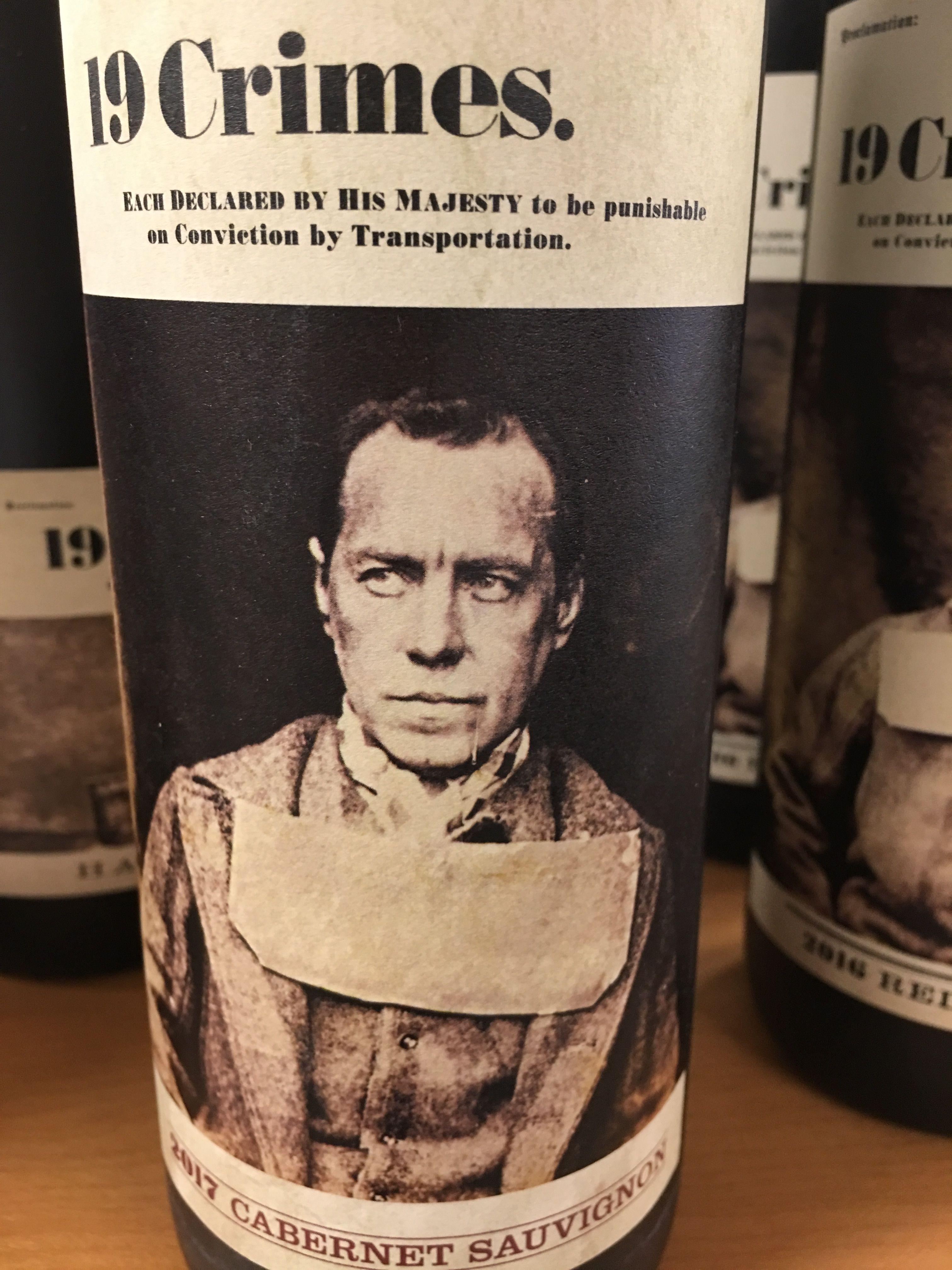 19 Crimes wine sauvignon, Sauvignon