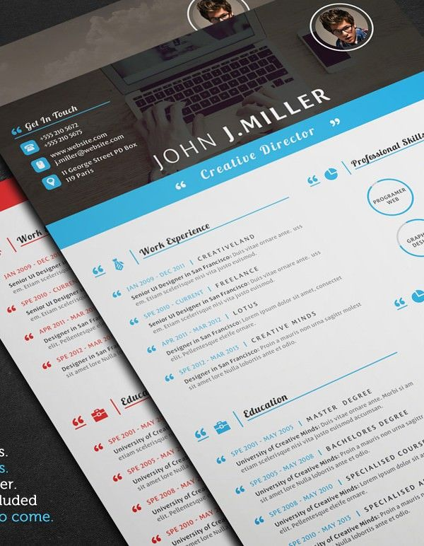 Resume Template for Director , Mac Resume Template \u2013 Great for More