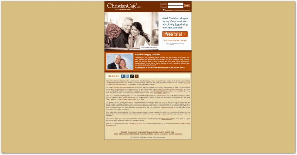 Christian Café Dating Site Review