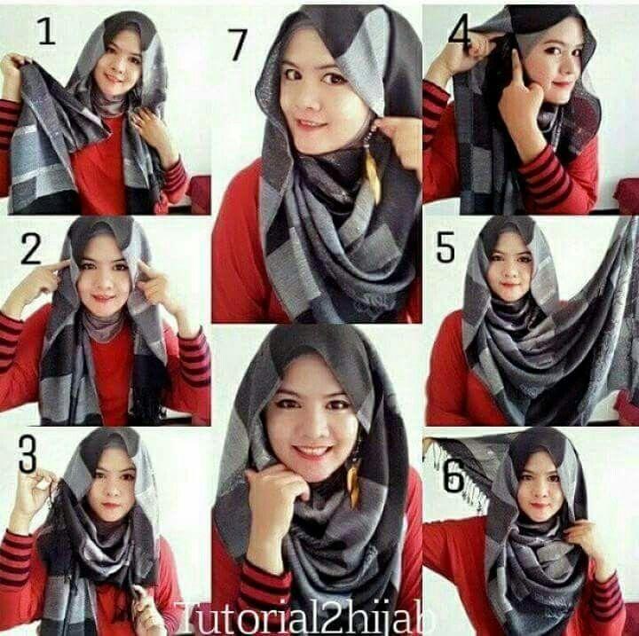 Pin By Ikraikra On Hijab Styling Hijab Style Tutorial Hijab Tutorial Stylish Hijab
