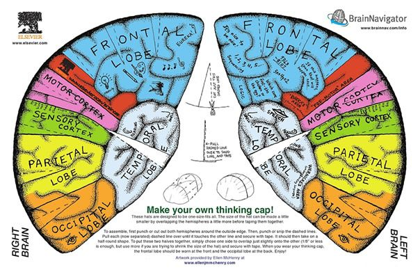 graphic relating to Brain Hat Printable identify questioning cap Friday enjoyment, generate your particular wondering cap