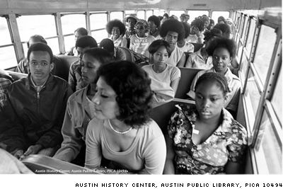 us history desegregation busing History – american  the us supreme court ruled that busing procedures were confined to school districts within the city  desegregation busing had also.