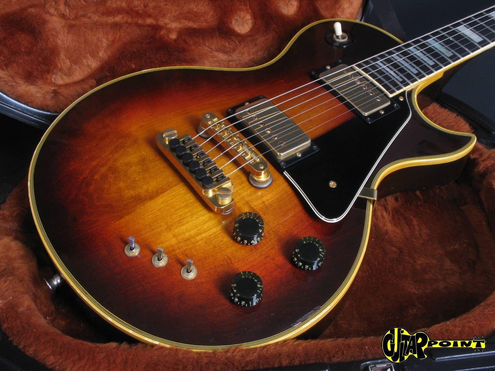 Gibson Les Paul Artist 1980 Tobacco Sunburst Gibson Les Paul Gibson Guitars Les Paul