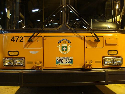 New Flyer D40LF at the Fort Rouge Garage