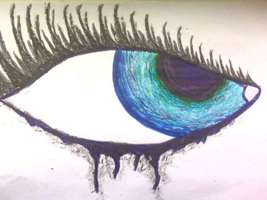 Simple Drawings Of Eyes Crying Images Pictures Nearpics Art