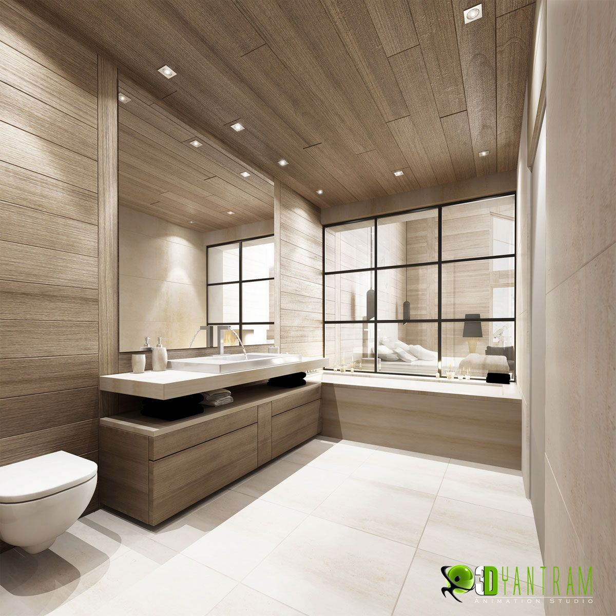 Interior 3d Rendering Cgi Design Animation Bathroom Interior Design Interior Design Software Contemporary Bedroom Design