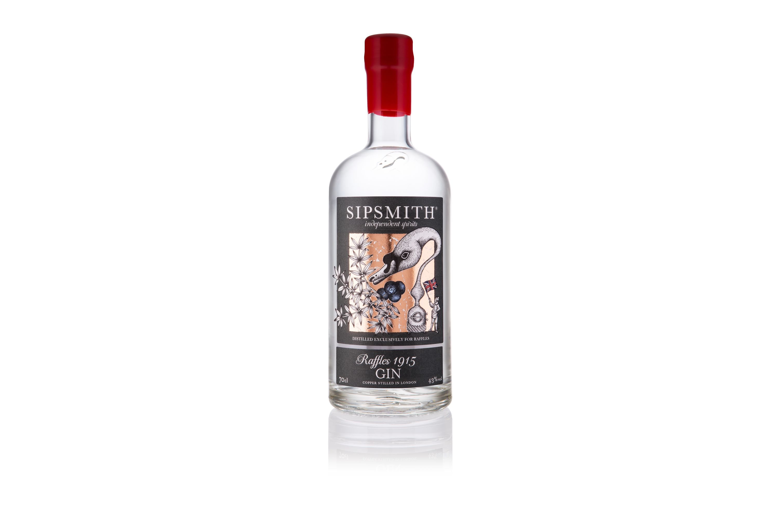 One hundred years ago, in 1915, Ngiam Tong Boon, Head Barman at Raffles' Long Bar, put gin at the heart of one of the most famous cocktails in the world, the Singapore Sling.  To commemorate that milestone, Sipsmith have created Raffles 1915 Gin, which goes on sale exclusively at Selfridge's on Monday 19 October (RRP £44). #gin #selfridges