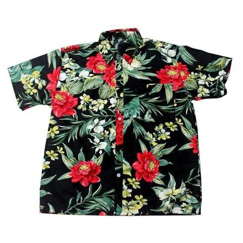 a0ce2232c65 FDWERYNH Men Hawaii Shirt Summer Beach Leisure Floral Tropical Seaside Hawaiian  Shirts Plus 3XL Casual Camisas Short Sleeve Tops