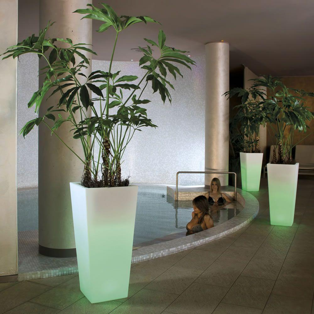 Vasi luminosi per giardino ed inerni vasi per piante - Vasi da giardino ikea ...